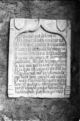 Plaque commémorative (3)