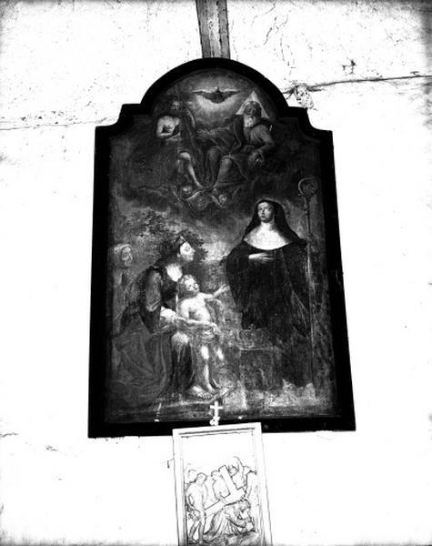 Tableau : Miracle de sainte Montaine
