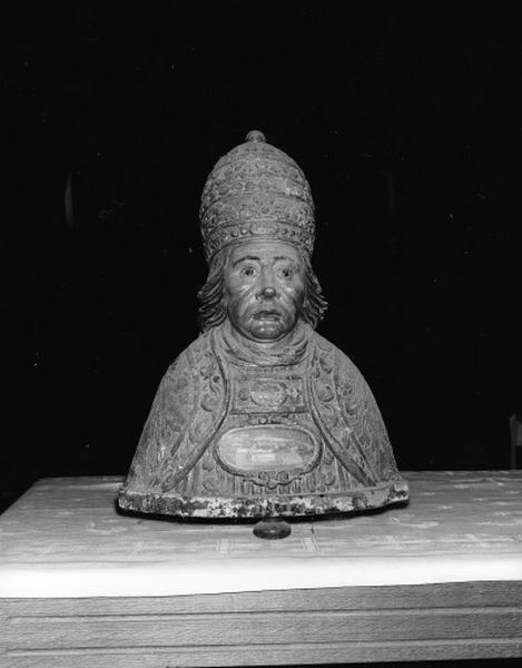 Buste-reliquaire : saint Bénigne