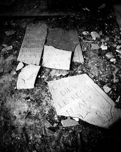 Dalle funéraire, de Jean billard (?)