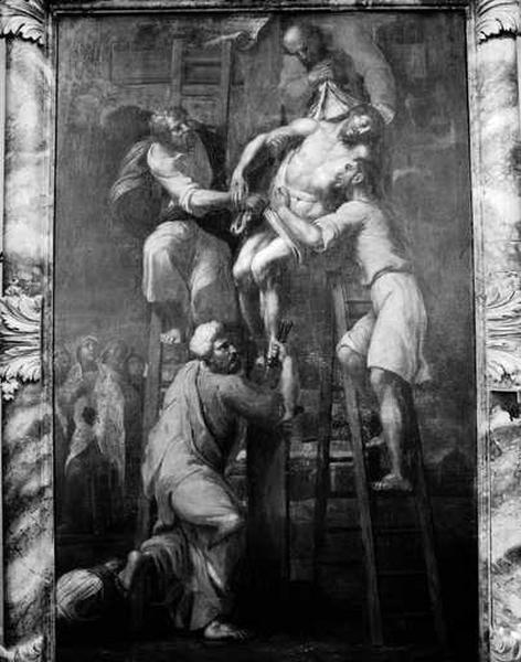 Tableau (tableau d'autel) : Descente de Croix