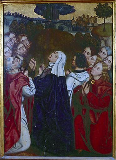 3 tableaux : Pentecôte, Couronnement d'épines, Ascension
