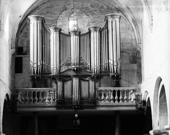 Partie instrumentale de l'orgue, buffet d'orgue