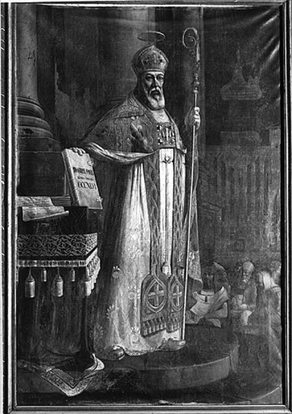 Tableau : saint Aubin d'Angers