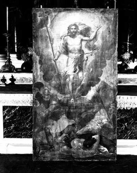 Tableau (tableau d'autel) : la Résurrection du Christ