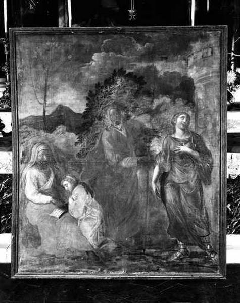 Tableau : Education de la Vierge