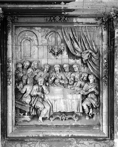 Retable (retable architecturé) (2), du maître-autel