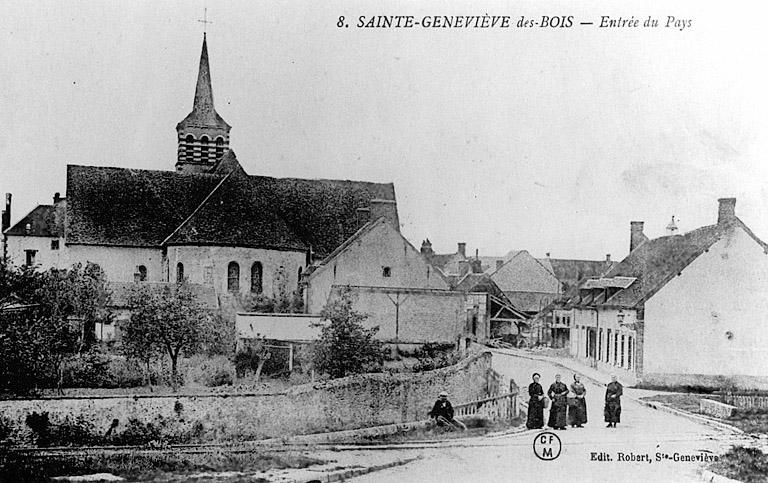 église paroissiale Sainte-Geneviève