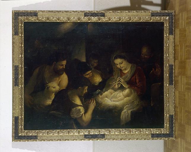 Tableau : Adoration des bergers (2)