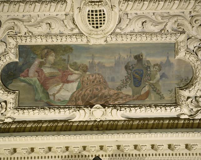Peintures de plafond : compositions allégoriques