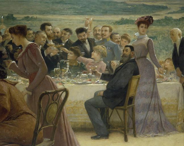 Peinture : allégorie du mariage