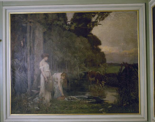 Peinture : la source