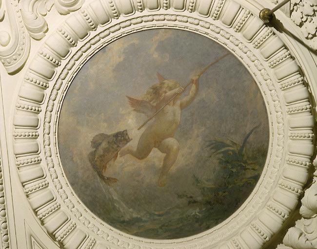 Peintures du plafond de la salle des mariages