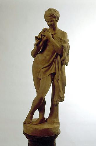 Statue (demi-nature) : faune