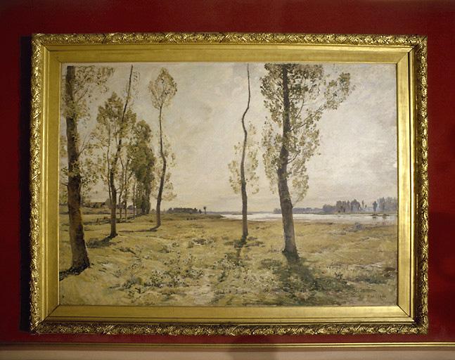 Tableau : paysage de Loire