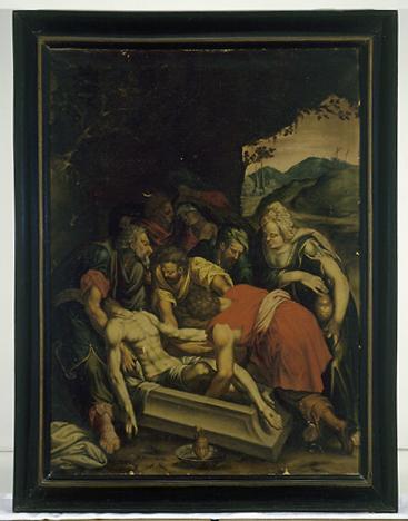 Tableau : Mise au tombeau