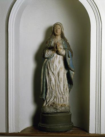 Statue (petite nature) : Vierge, Notre-Dame de prompt secours