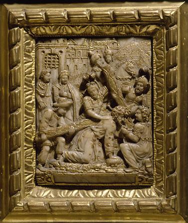 6 hauts-reliefs : épisodes de la vie du Christ