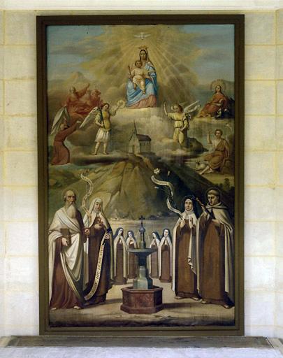 Tableau : allégorie du Carmel