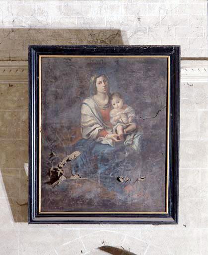 Tableau : Vierge à l'Enfant au chapelet (la).