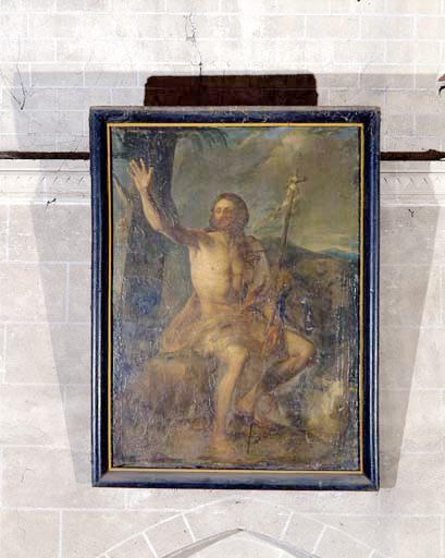 Tableau : saint Jean-Baptiste.