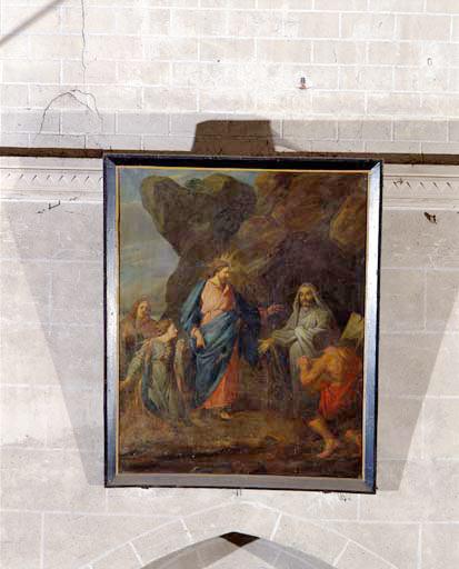 Tableau : la Résurrection de Lazare.