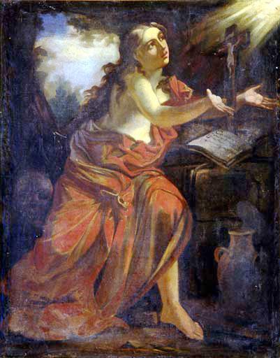 Tableau : sainte Marie-Madeleine.