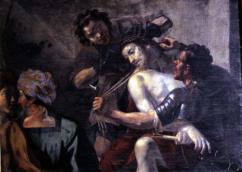 Tableau : Dérision du Christ