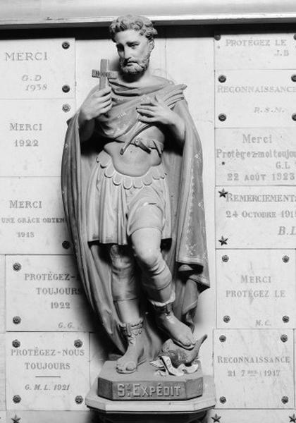 Statue : Saint Expedit