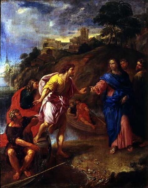 Tableau : Vocation de Jacques et Jean, fils de Zébédée