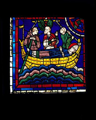 Verrière : Histoire de saint Martin (baie 20)