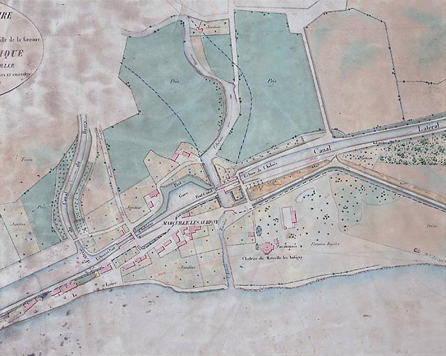 Site d'écluse de l'Aubois (canal latéral à la Loire)