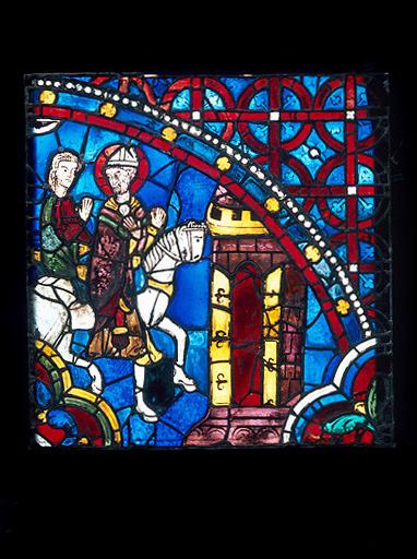 Verrière : Histoire de saint Thomas Becket (baie 18)