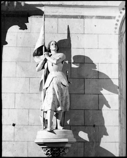 Statue : Jeanne d'Arc