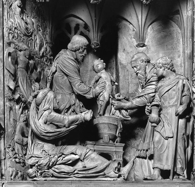 groupe sculpté : Circoncision