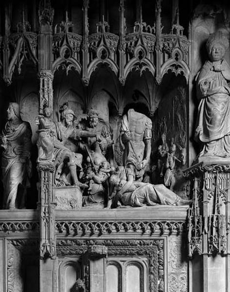 groupe sculpté : Massacre des Innocents
