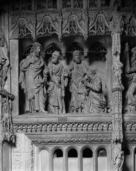 Groupe sculpté : La Cananéenne