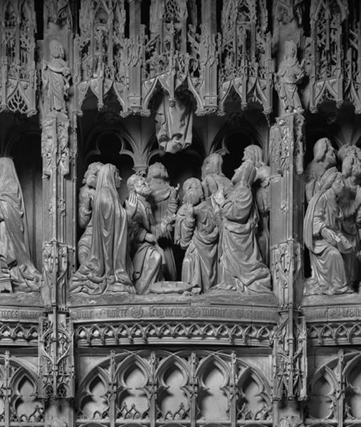 groupe sculpté : Ascension