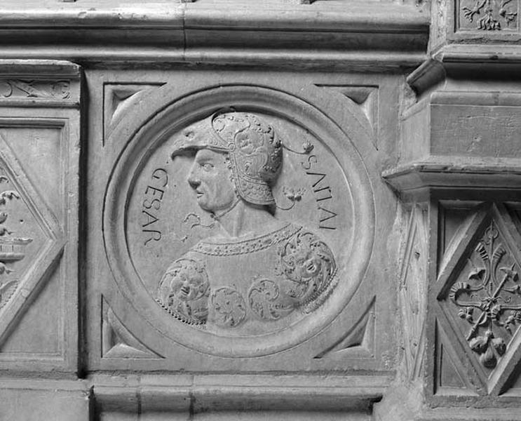 Médaillon : Jules César