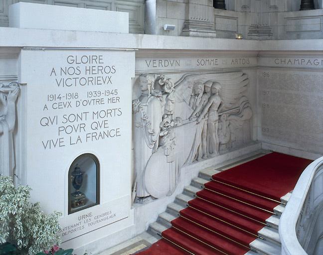 monument aux morts : de la guerre de 1914