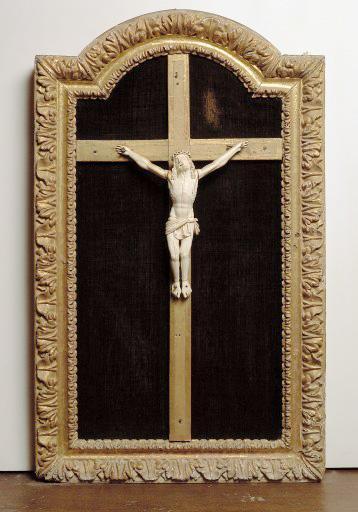 Croix encadrée : Christ en croix (n°2)