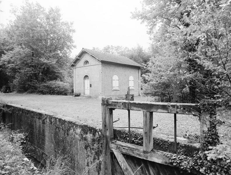 Site d'écluse de la Vossonnerie (canal de la Sauldre)