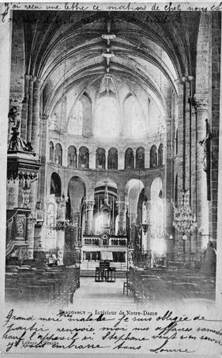 Église Notre-Dame de l'abbaye de chanoines réguliers de saint Augustin, actuellement église paroissiale
