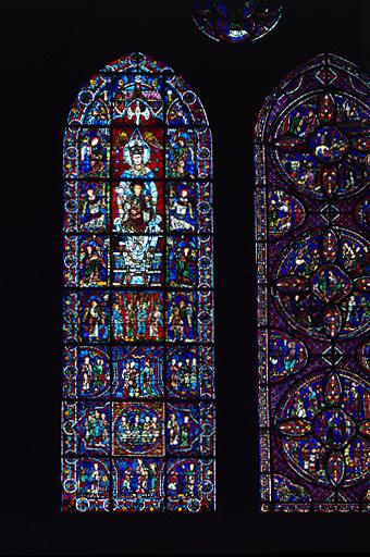 verrière : Notre-Dame de la Belle-Verrière (baie 30)