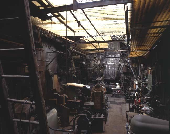 atelier de taillanderie