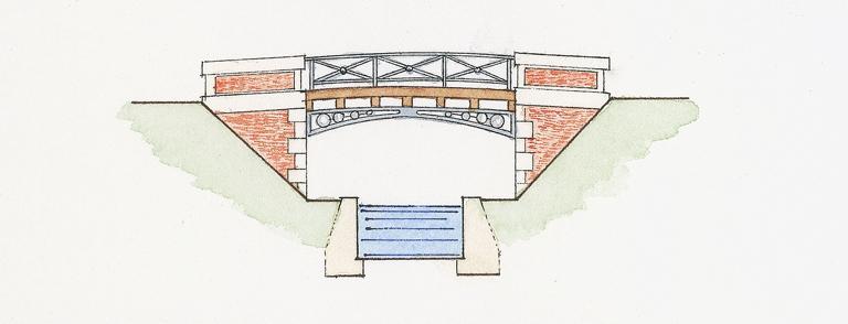 Pont (canal de la Sauldre)