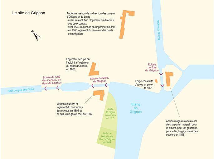 Site d'écluse dit écluse du Bas de Grignon