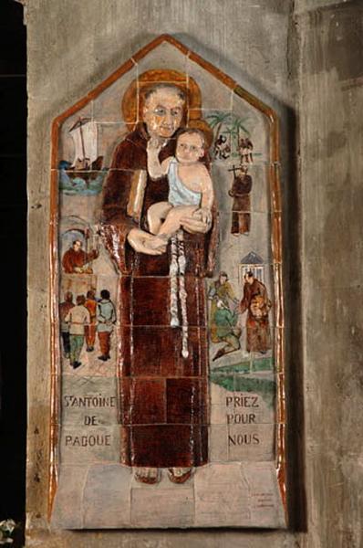 panneau : saint Antoine de Padoue