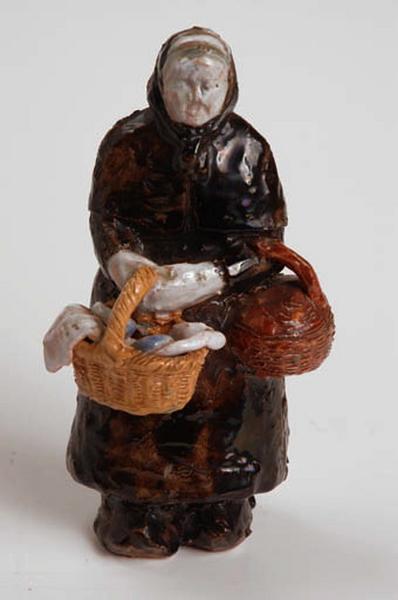 figurine : marchande de beurre