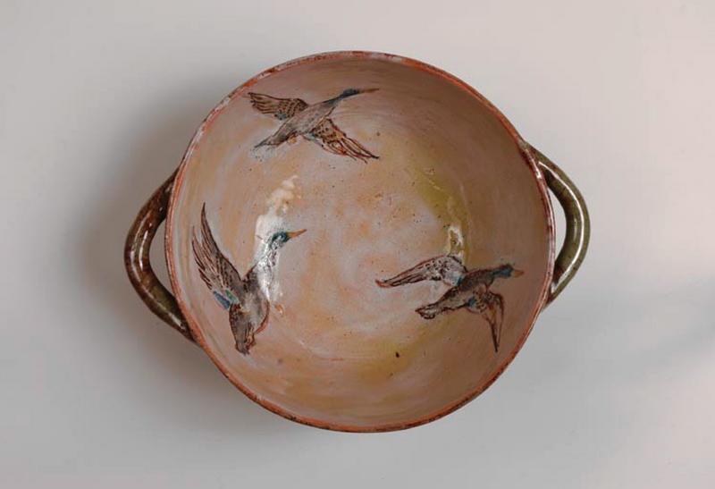 écuelle : vol de canards